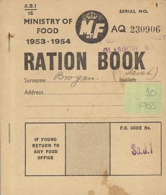 TheGlasgowStory: Ration Book