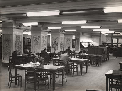 Commercial Library, c 1955