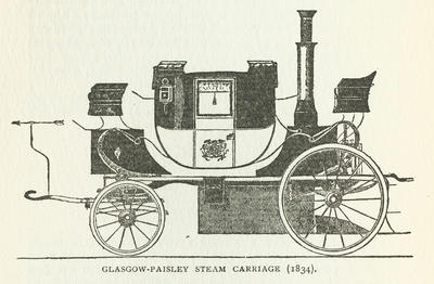Steam Carriage, 1834