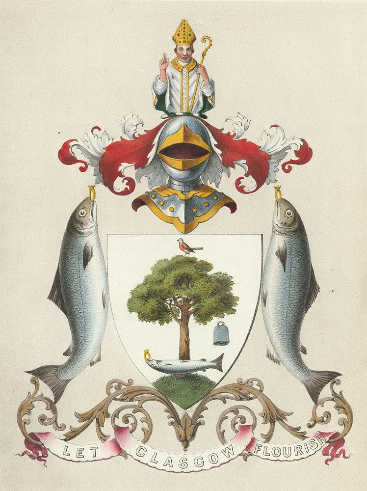 Theglasgowstory Glasgow Coat Of Arms