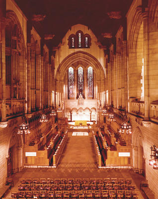 Keywords: chapels, churches, interiors, pulpits, stained glass, stalls, University Chapel, University of Glasgow buildings, windows
