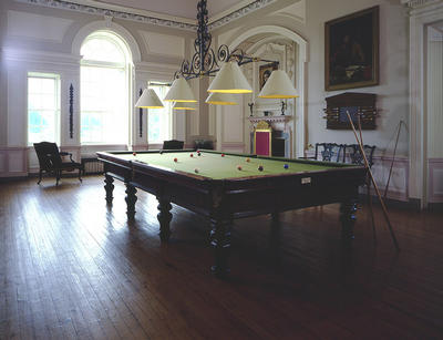 Keywords: billiard rooms, billiards, mansions, National Trust for Scotland, neo-classical, Pollok House, Pollok Park