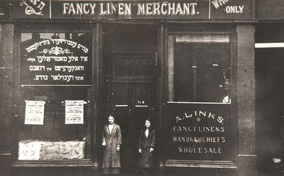 A Links, Fancy Linen Merchant