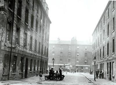 Theglasgowstory Roslin Place And Burnside Street