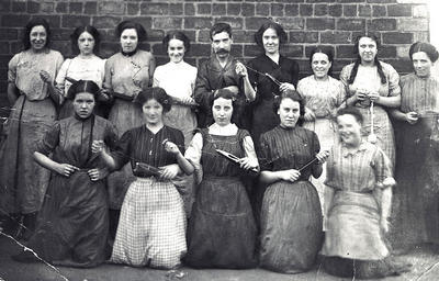 Textile Workers c 1890