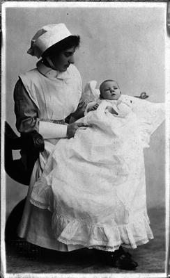 Theglasgowstory Nurse And Baby
