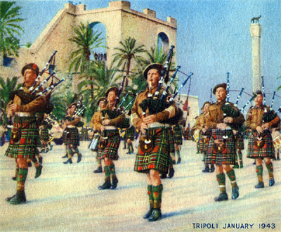 51st (Highland) Division at Tripoli